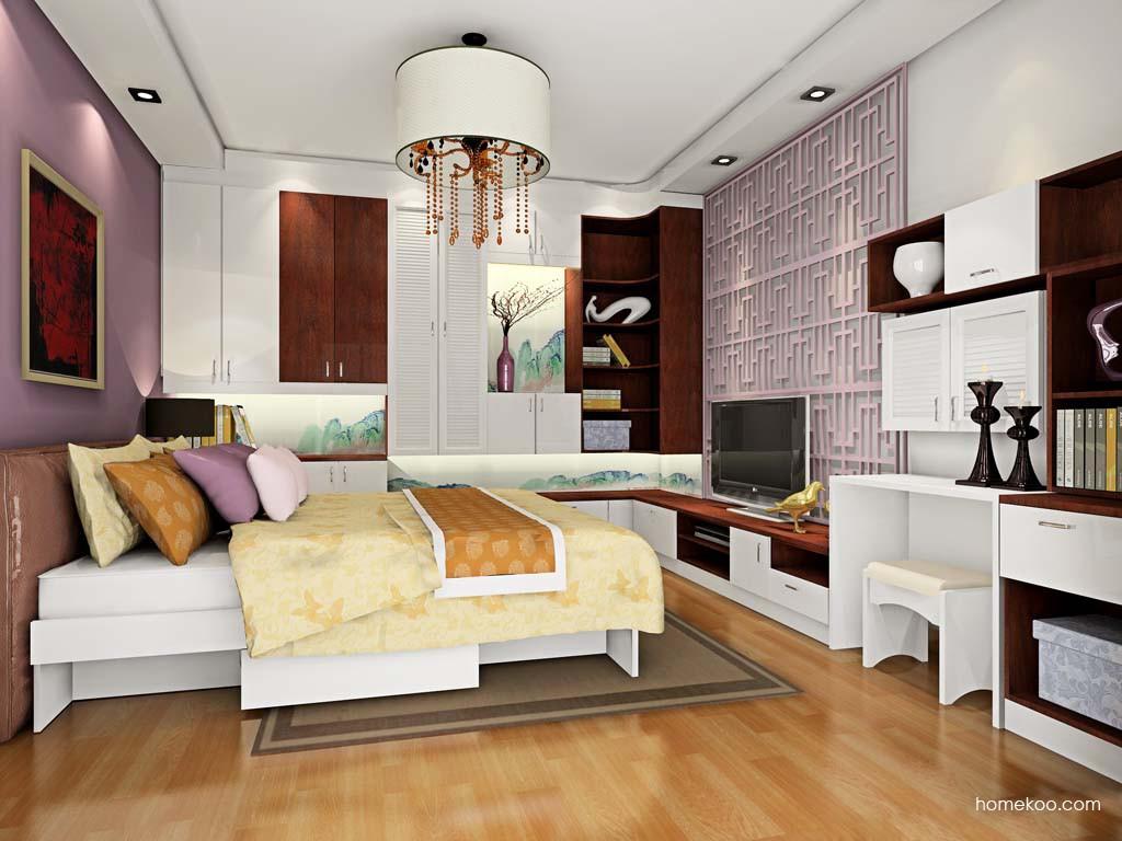 新实用主义卧房家具A18845