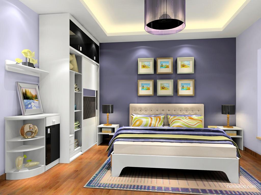 简约主义卧房家具A18849