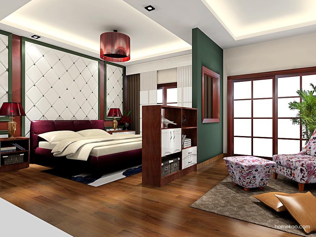 挪威月色卧房家具A18859