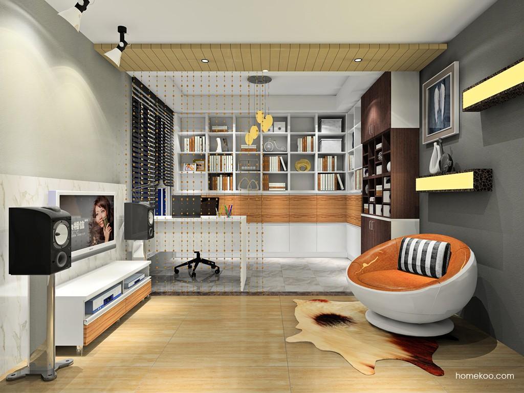 新实用主义书房家具C18944