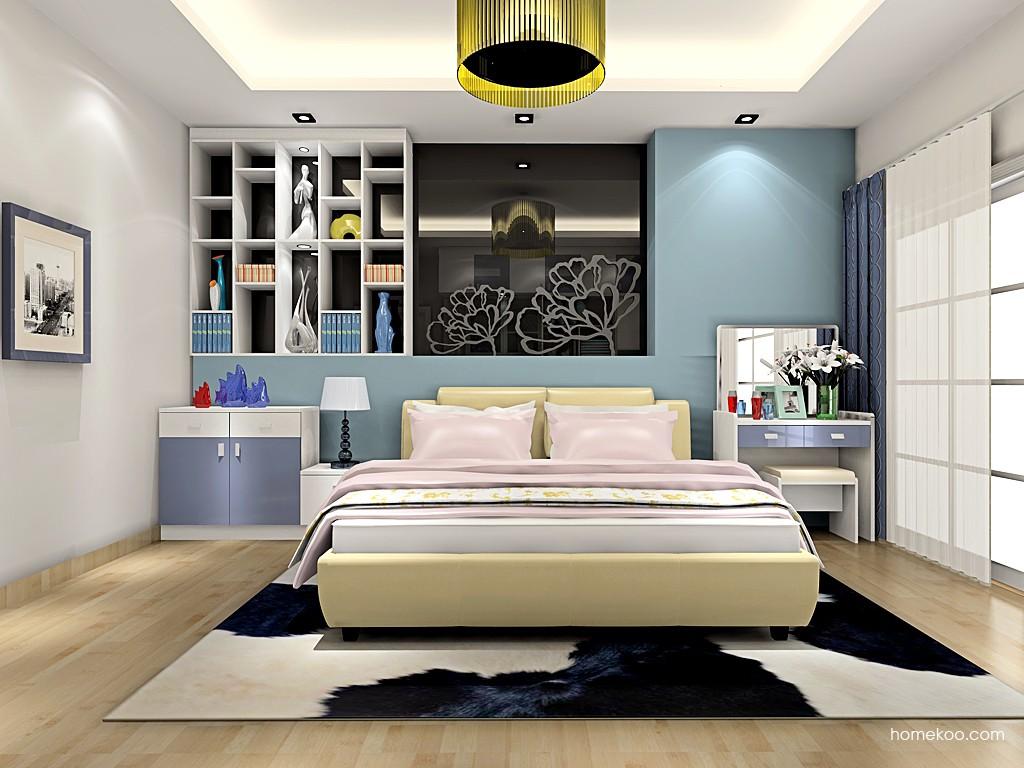 新实用主义卧房家具A18863