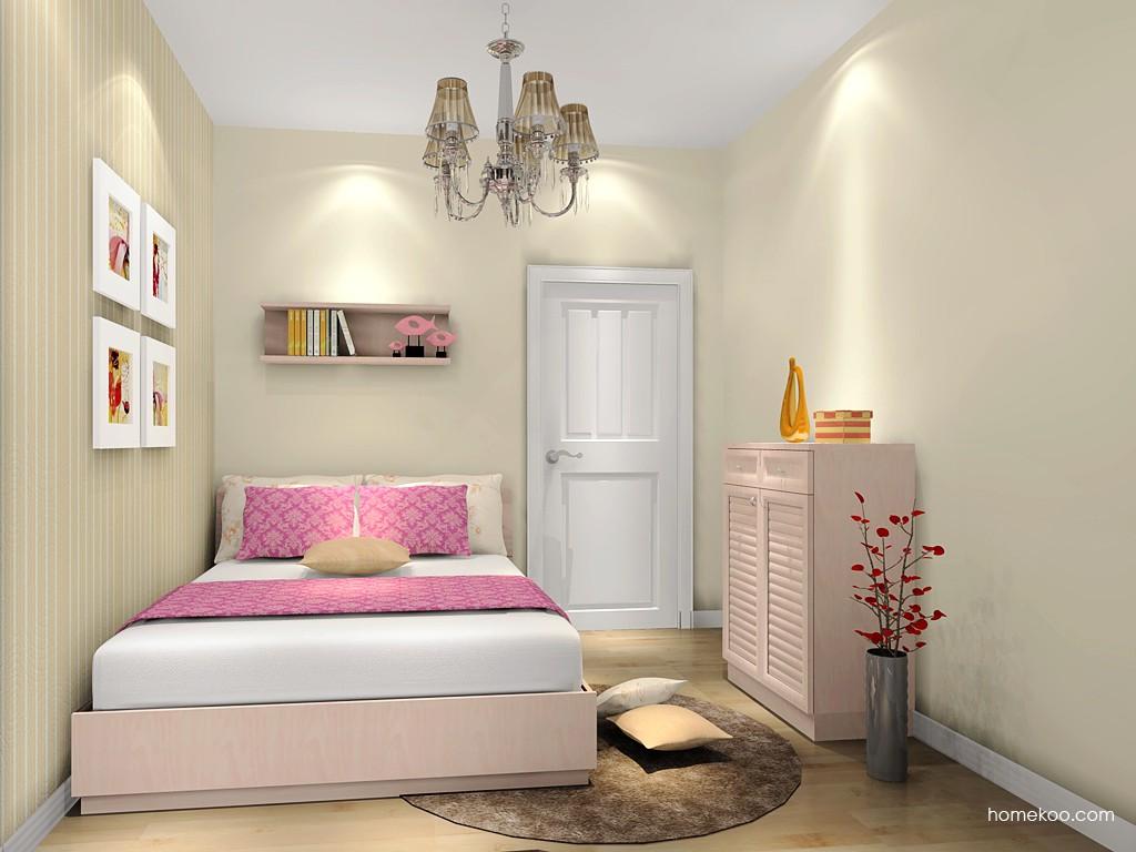 北欧阳光卧房家具A18864