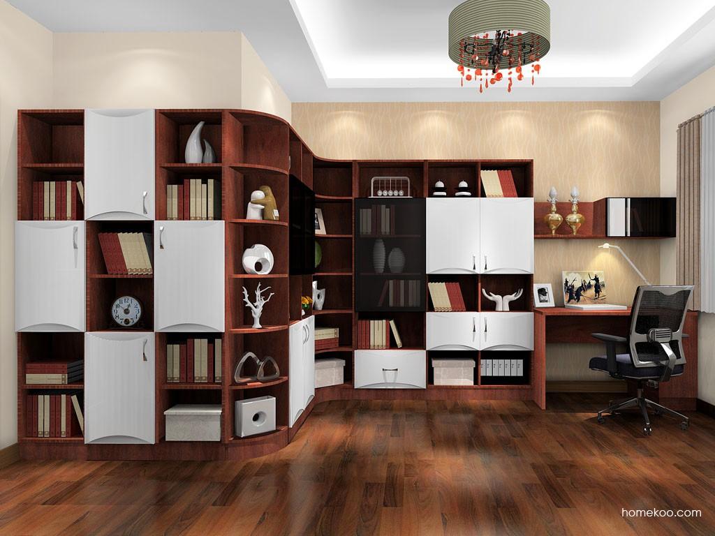 挪威月色书房家具C18952