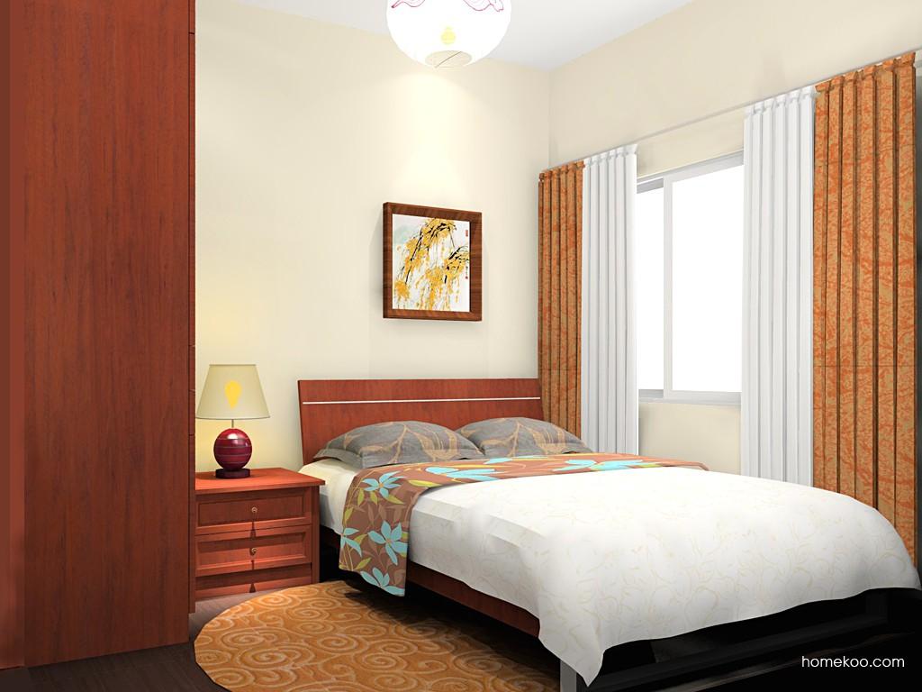 新中式主义卧房家具A19071