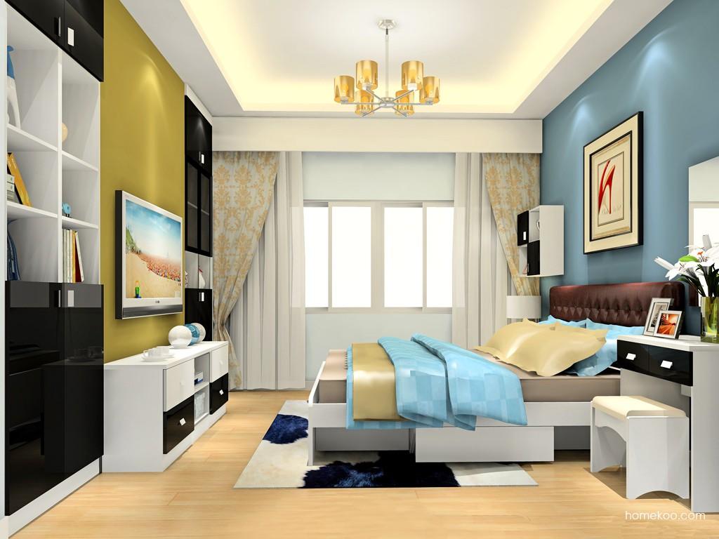 简约主义卧房家具A19072