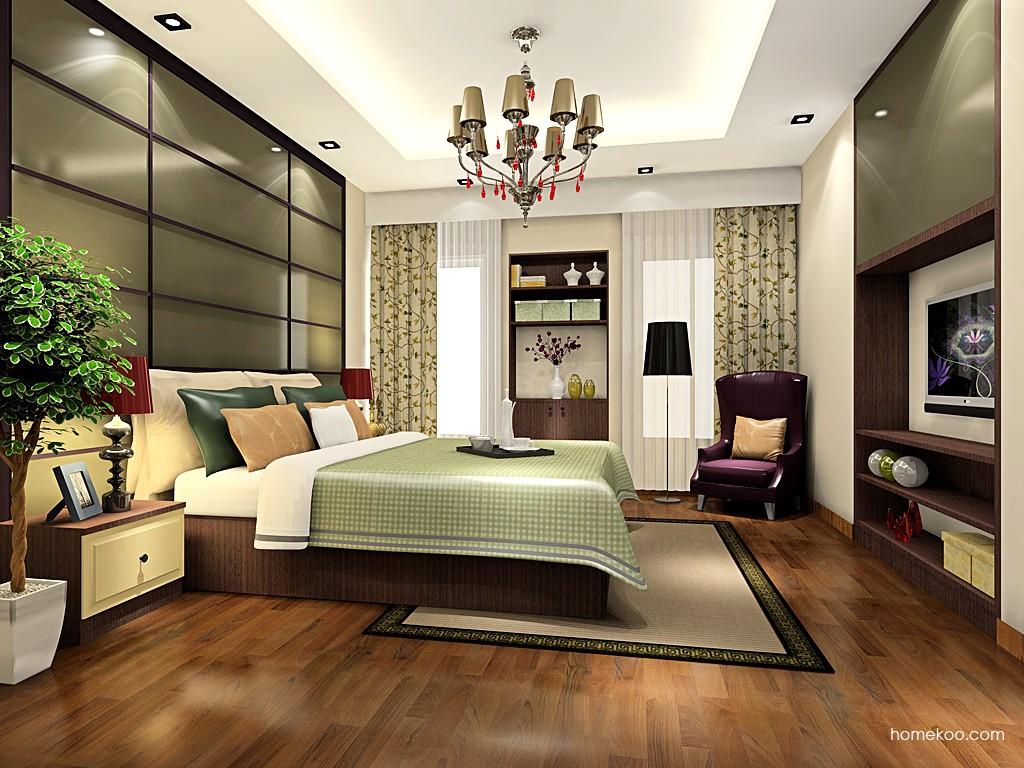 卡罗摩卡卧房家具A19076