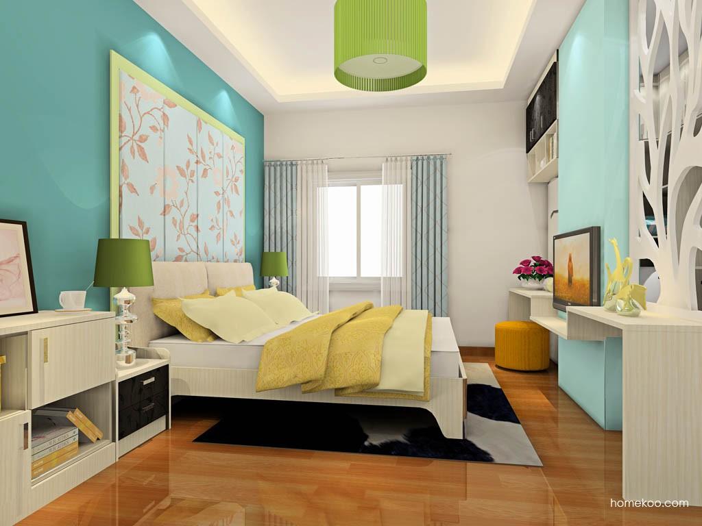 米兰剪影卧房家具A19078