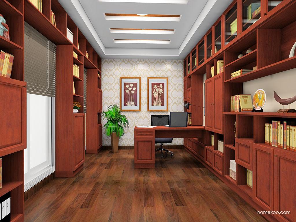 新中式主义书房家具C19078