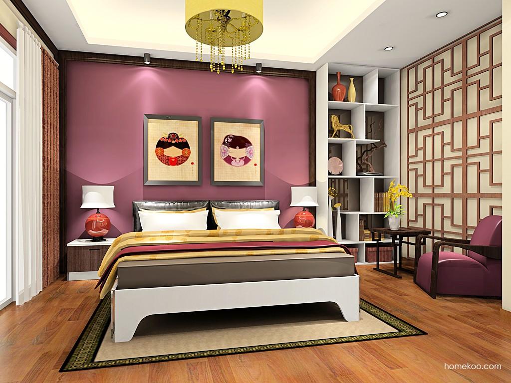 新实用主义卧房家具A19081
