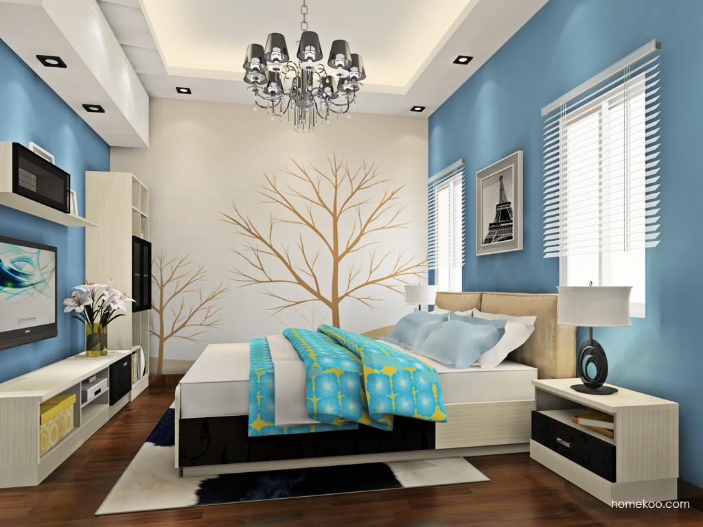 米兰剪影卧房家具A19082