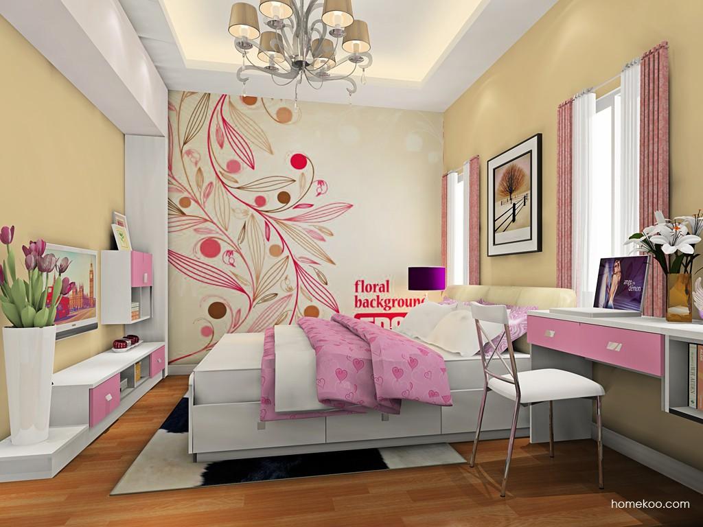 浪漫主义卧房家具A19086