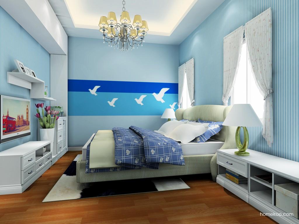 韩式田园卧房家具A19087