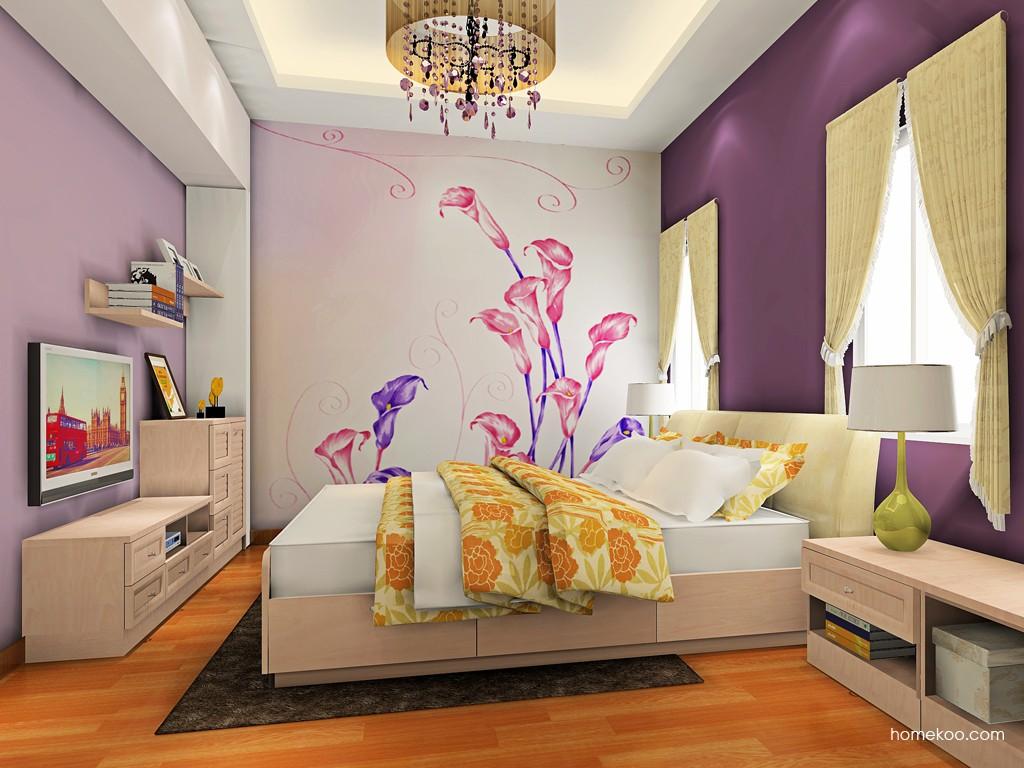 北欧阳光卧房家具A19093