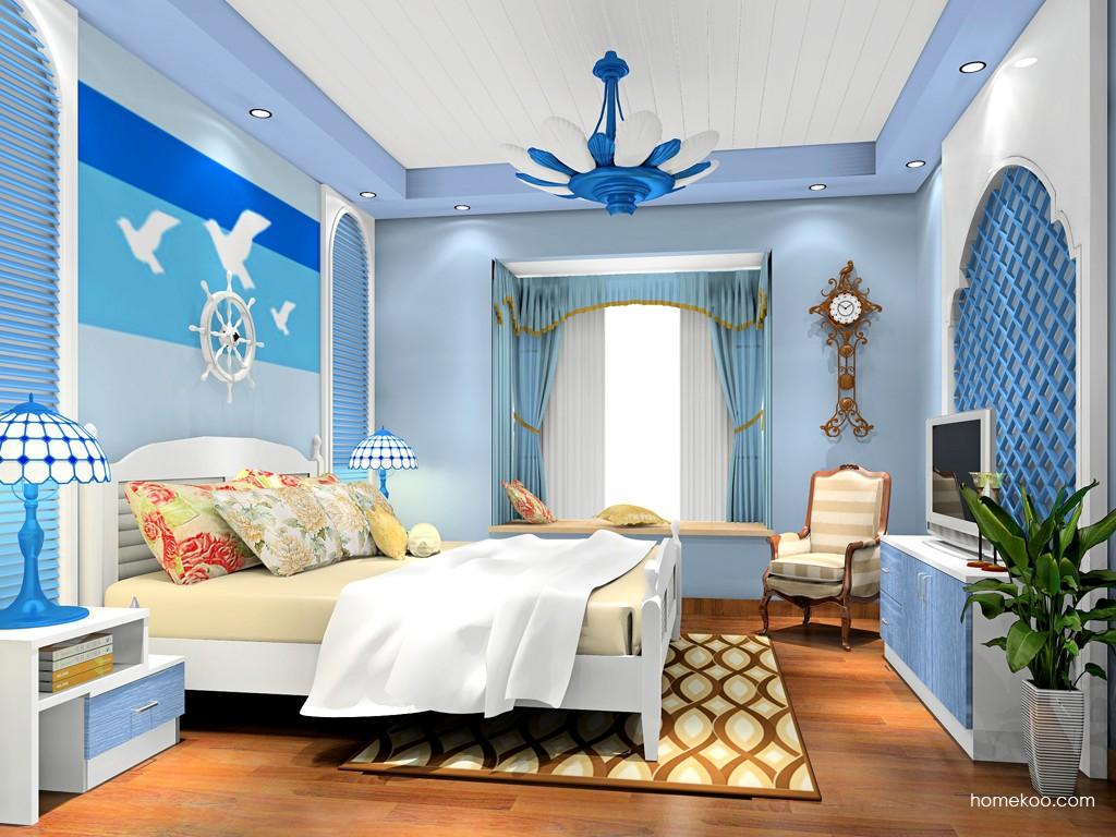 新实用主义卧房家具A19097