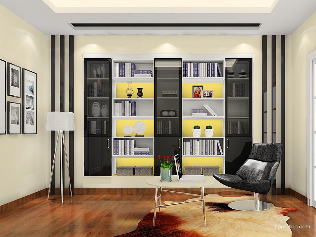 新实用主义书房家具C19089