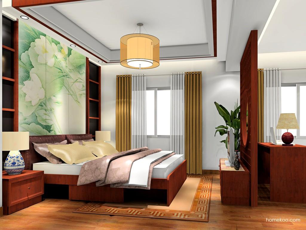 新中式主义卧房家具A19102