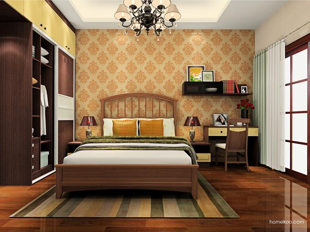 卡罗摩卡卧房家具A19107