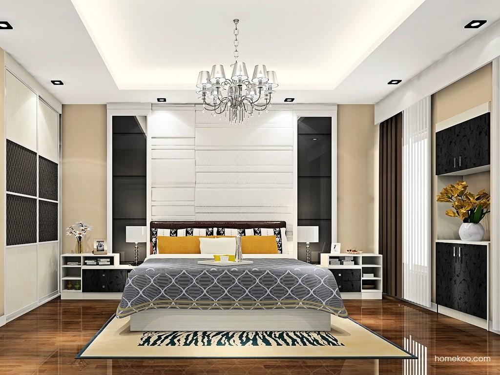 米兰剪影卧房家具A19108