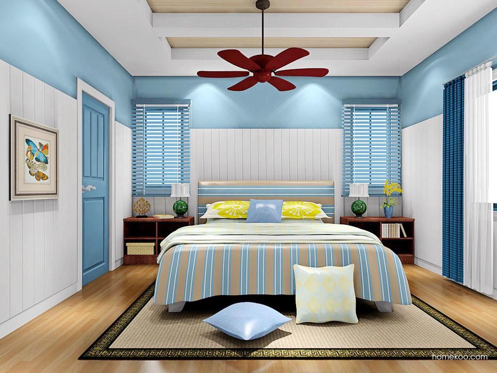 新实用主义卧房家具A19110