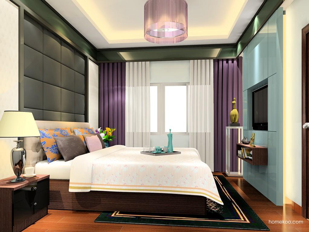新实用主义卧房家具A19119