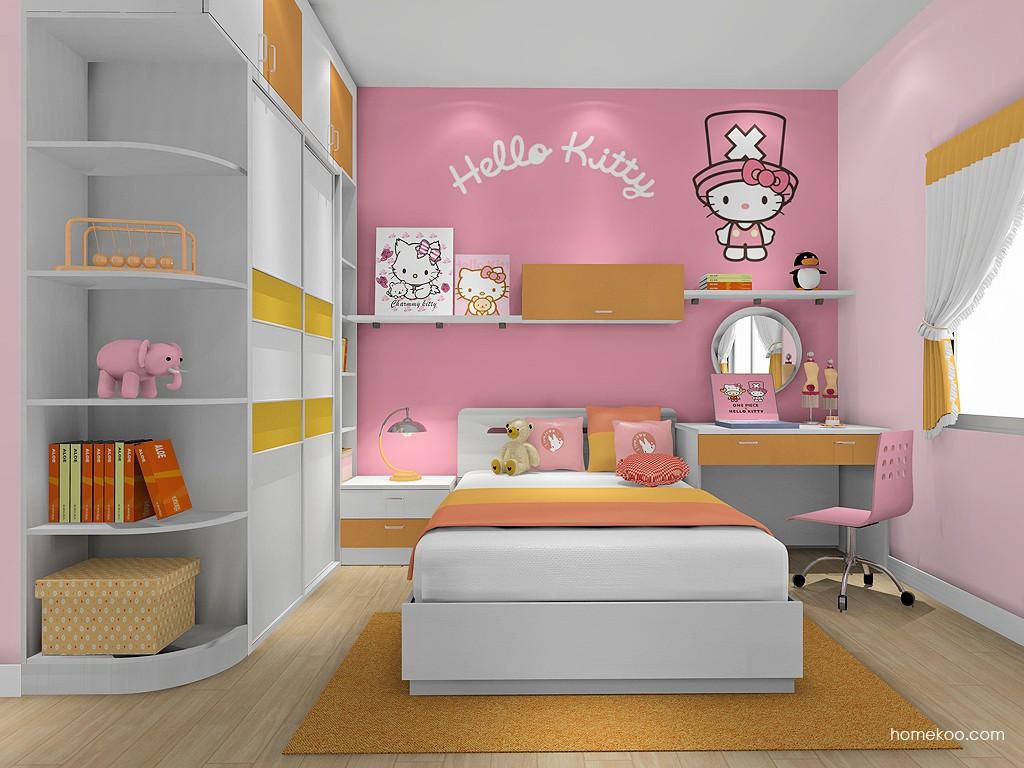 女孩的梦青少年房B19111