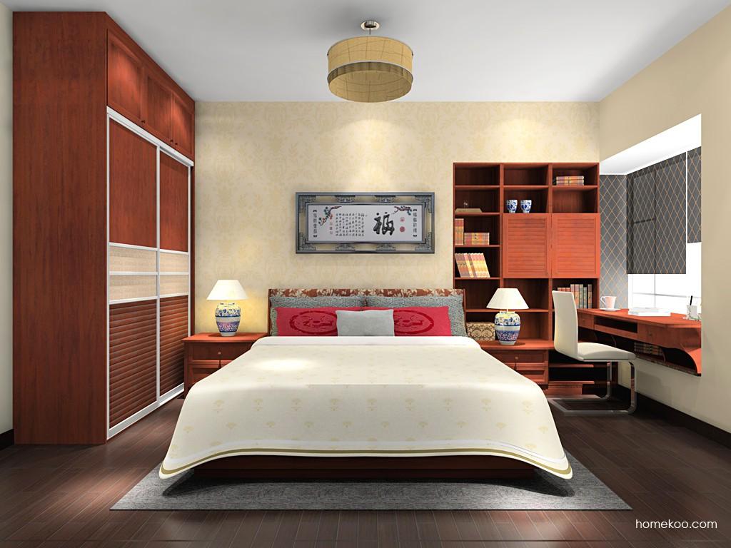 新中式主义卧房家具A17760