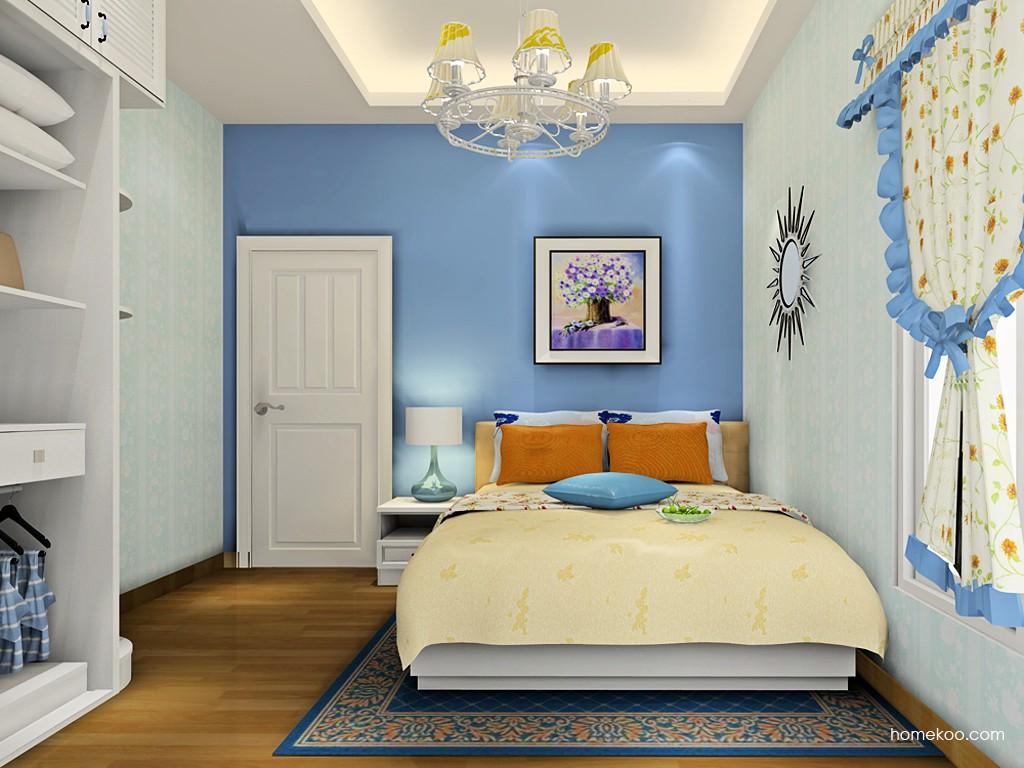 韩式田园卧房家具A19129