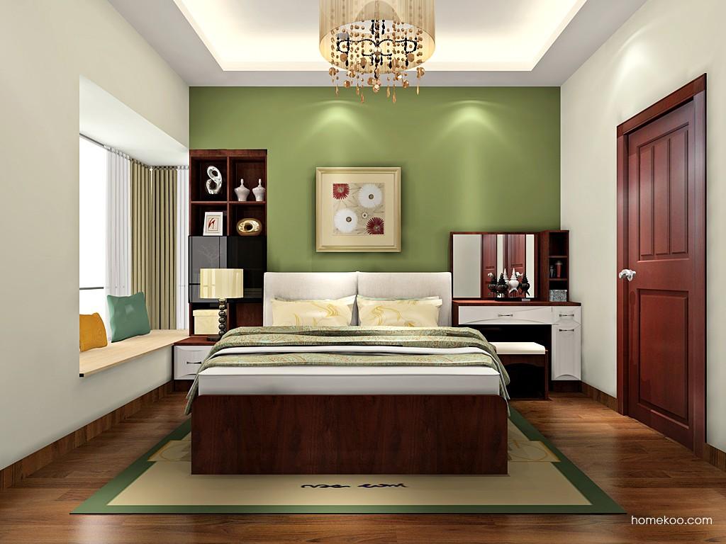 挪威月色卧房家具A19134