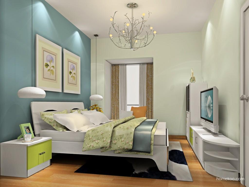 里昂春天卧房家具A19136
