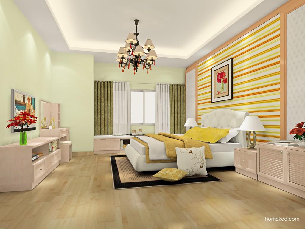 北欧阳光卧房家具A19137