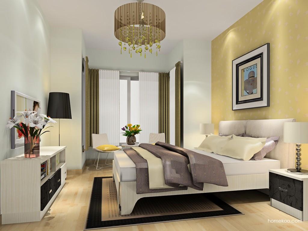 米兰剪影卧房家具A19139