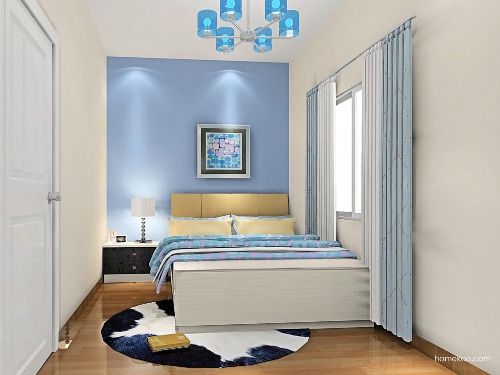 米兰剪影卧房家具A19151
