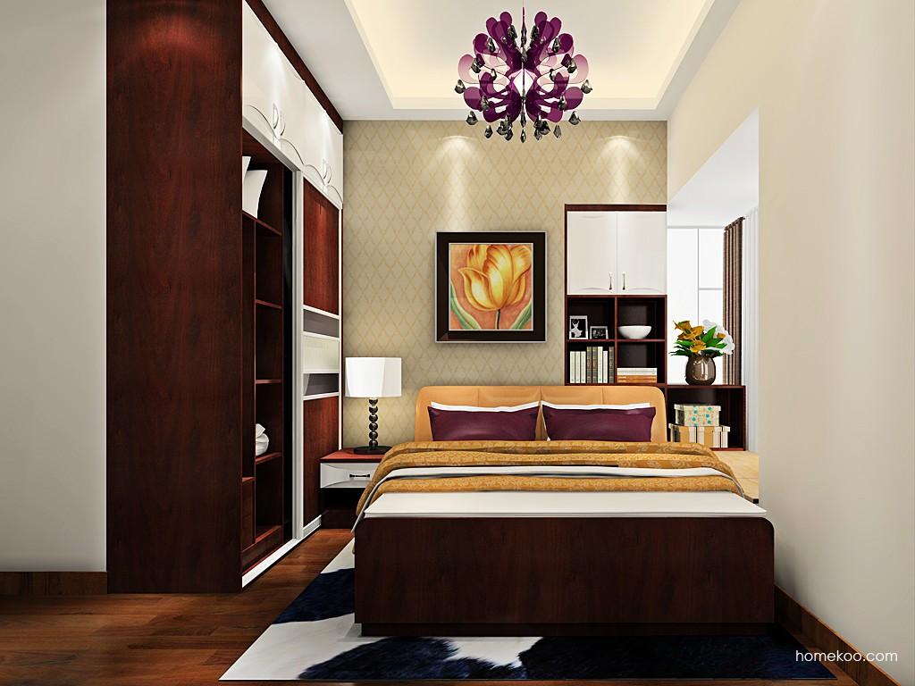 挪威月色卧房家具A19154