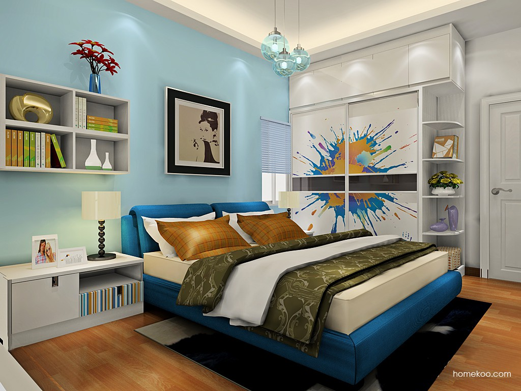 首尔之缤卧房家具A19155
