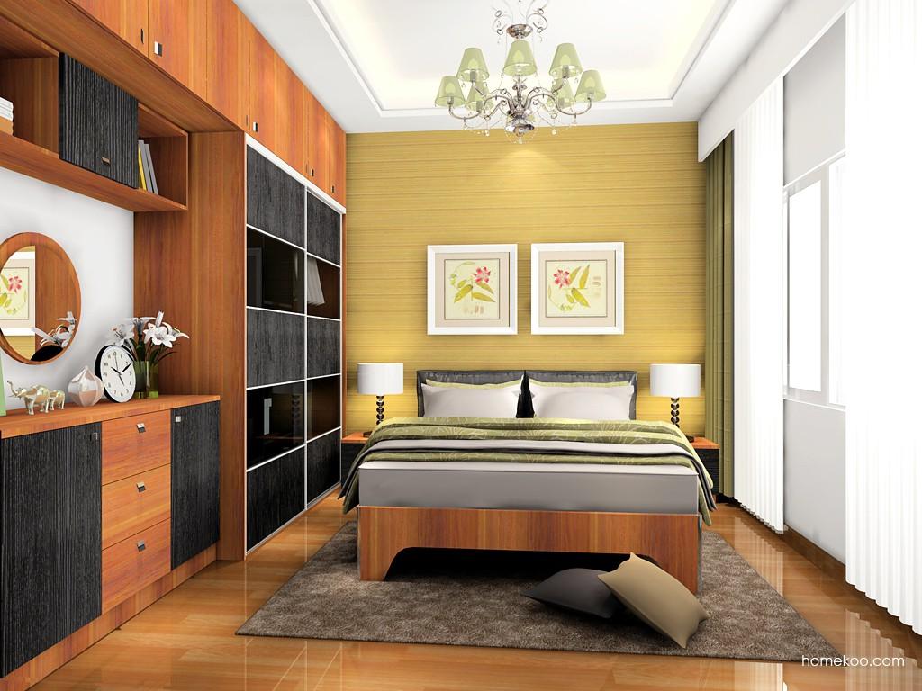 卡罗摩卡卧房家具A19159