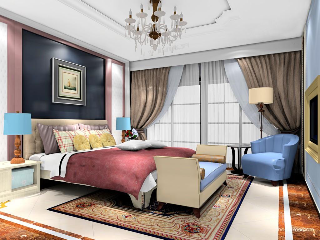 英伦印象卧房家具A19162