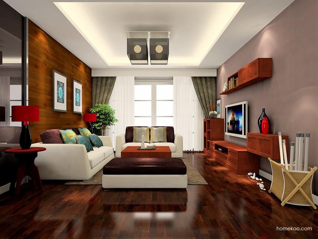 新中式主义客厅家具D17617