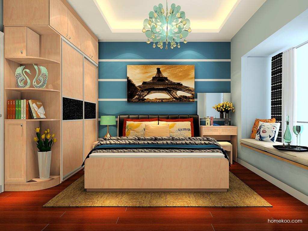 北欧阳光卧房家具A19144