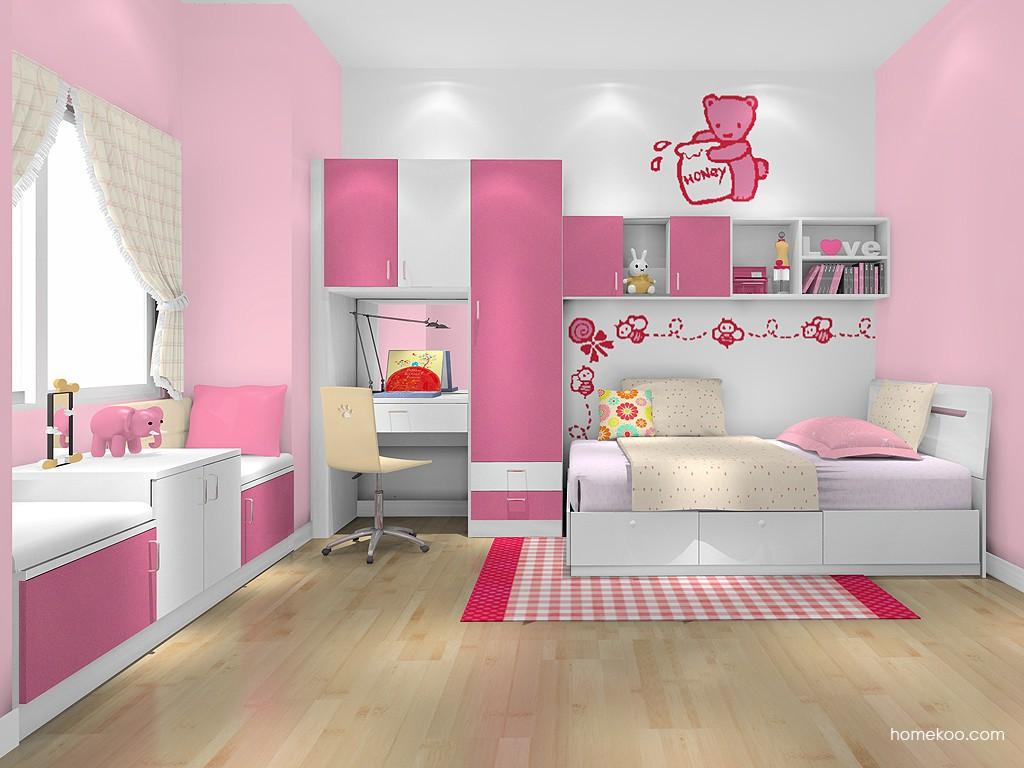 女孩的梦青少年房B19149