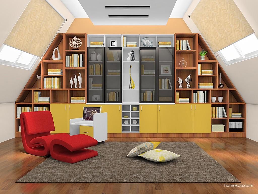 新实用主义书房家具C19154