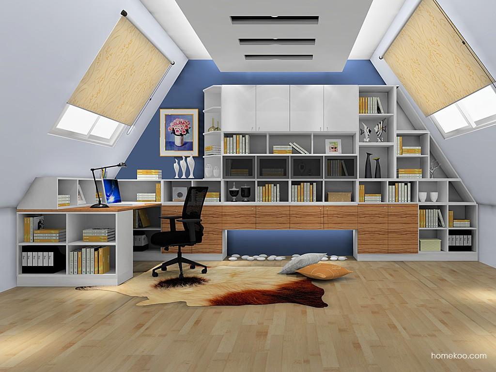 新实用主义书房家具C19172