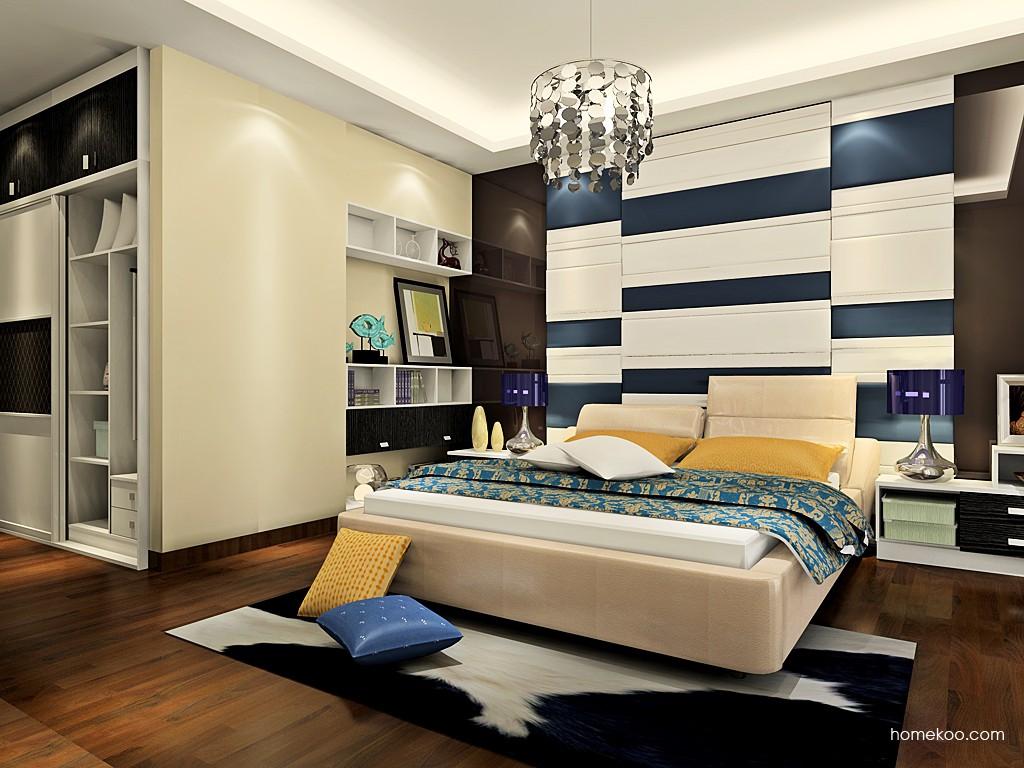简约主义卧房家具A19172