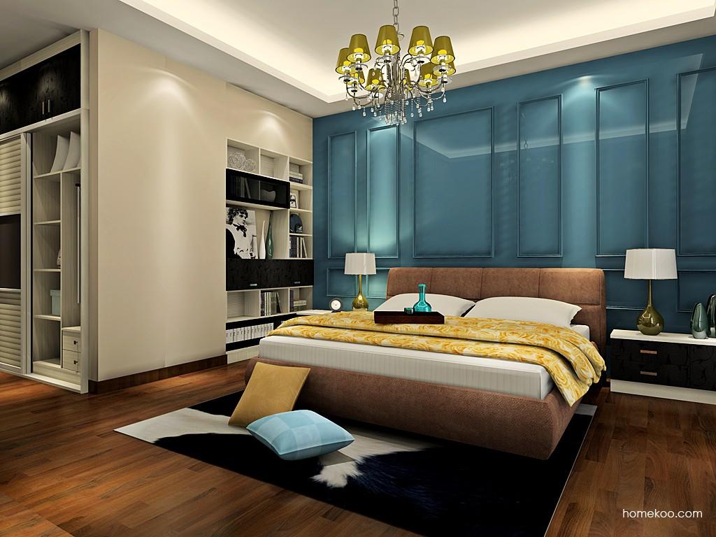 米兰剪影卧房家具A19176