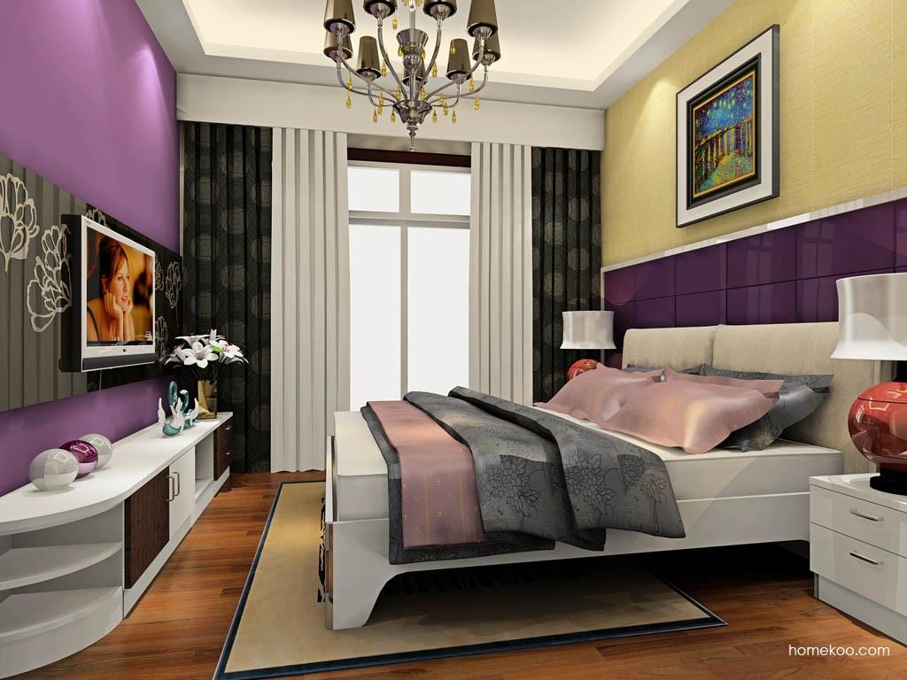 新实用主义卧房家具A19177
