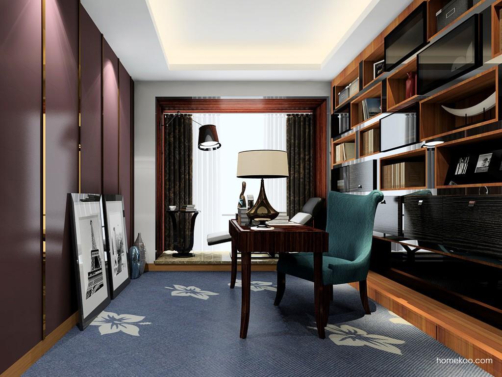 德国森林书房家具C19175