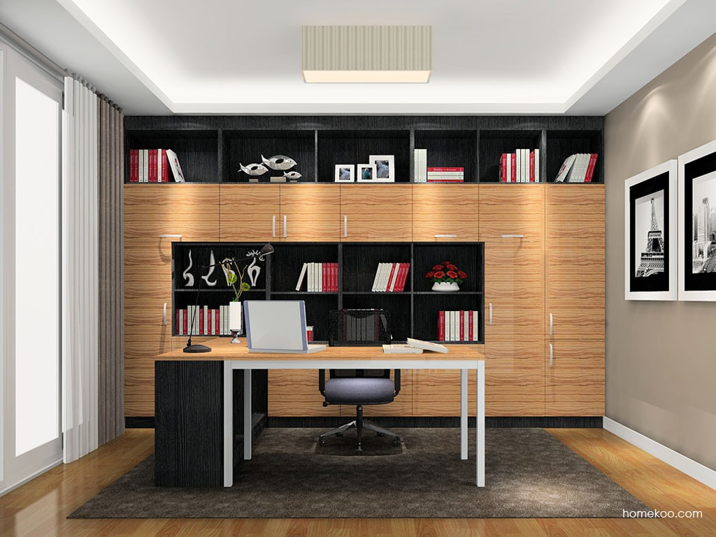 新实用主义书房家具C19146