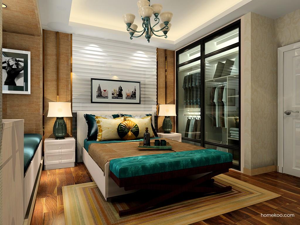 北欧阳光卧房家具A19182
