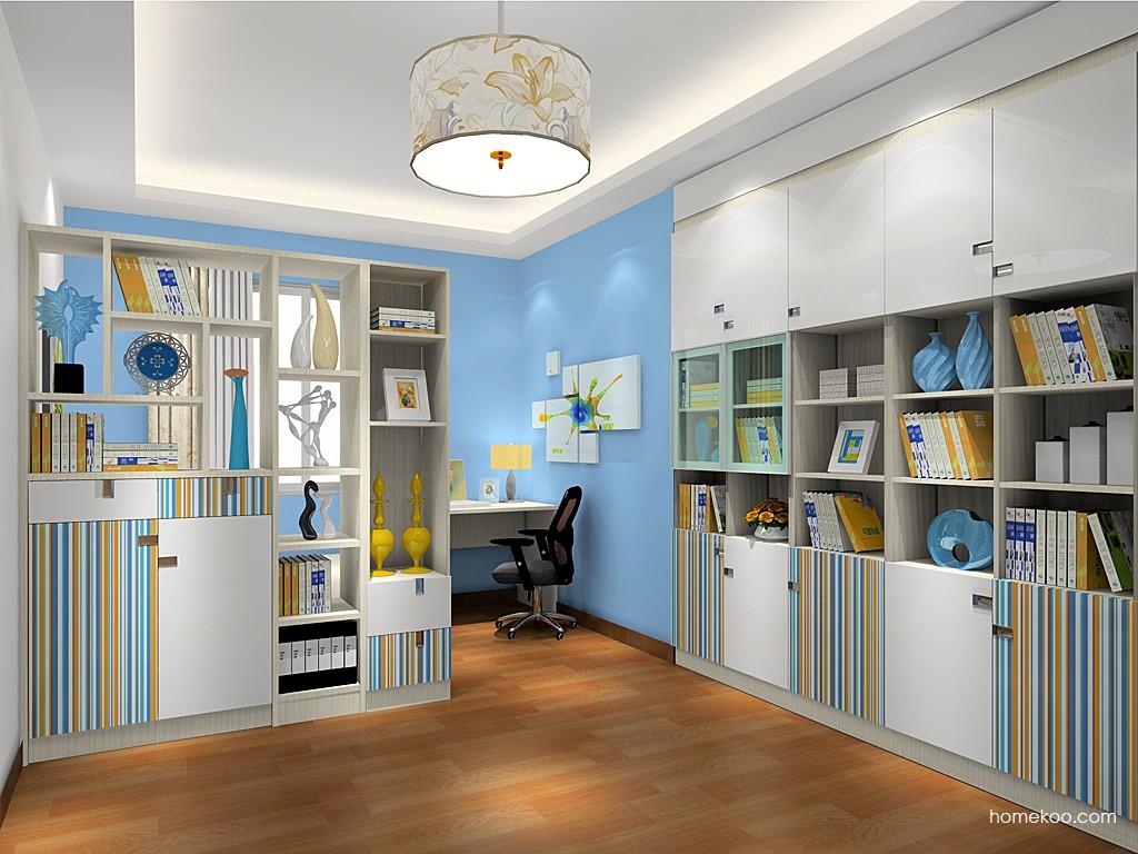首尔之缤书房家具C19199