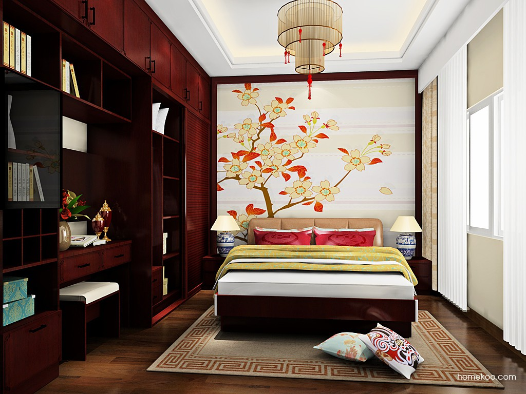 中国韵卧房家具A19189