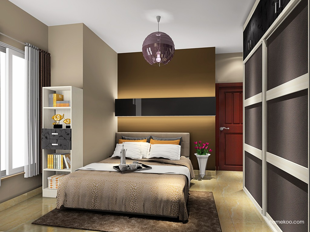 米兰剪影卧房家具A19203